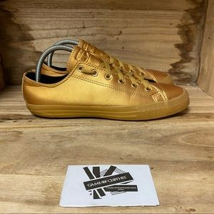 Converse all stars golden street sneakers shoes